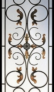 Bellwood Wrought Iron Door Insert