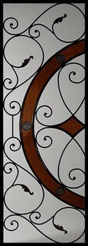Bennington Stained Glass Door Insert