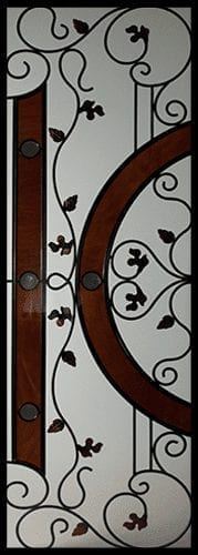 Fayewood Stained Glass Door Insert