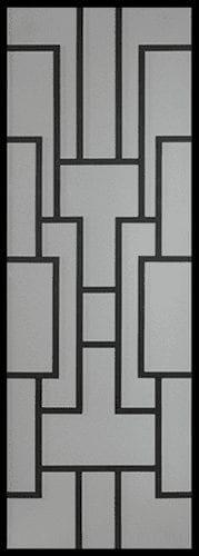 Gatsby Wrought Iron Door Insert