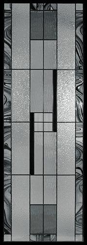 Miller Stained Glass Door Insert