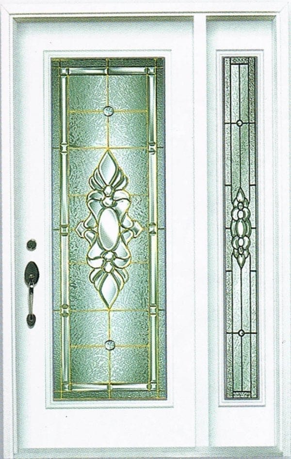 Peterborough Stained Glass Door Insert